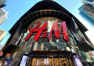 米ニューヨーク・マンハッタンにあるH&Mの店舗=2019年11月(ロイター=共同)