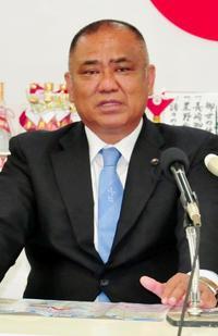 石垣市長選:砂川氏が政策発表 陸自配備「別の場所」
