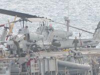 米軍ヘリ着艦失敗 ホワイトビーチ