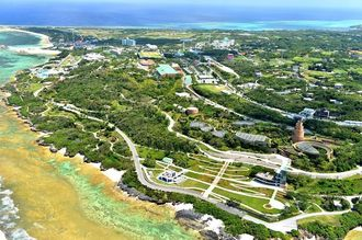 USJの沖縄進出に関連し、政府が活用を検討している本部町の国営公園・海洋博公園
