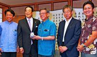 石垣で「離島甲子園」/200勝投手村田さんがPR/来月開催 全国23チーム