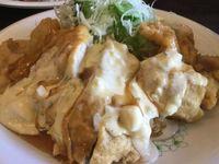 浦添市港川の「くわっちぃ食堂 青空」でやみつきチキン南蛮を食べたの巻 運転手メシ(261)