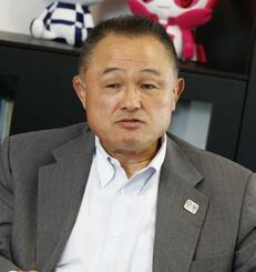 全日本柔道連盟の山下泰裕会長