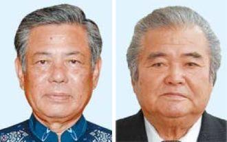 (左から)前田政義氏、前川清氏