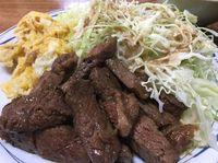 名護市の食堂守礼で分厚い焼肉定食を食べたの巻 運転手メシ(281)