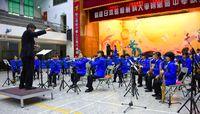 AKB 安室さんの曲も/昭薬高中生、台湾で演奏
