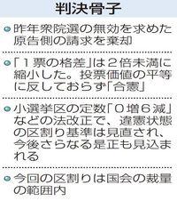 2017年衆院選、沖縄県内は合憲 1票の格差訴訟・高裁那覇支部判決