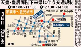 29日の交通規制