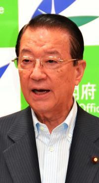 沖縄関係予算「知事の姿勢 額に影響ない」 一括交付金減で江崎担当相