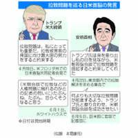 安倍首相、トランプ氏に不安 拉致取り上げへ念押し【深掘り】