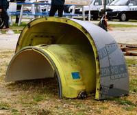 在日米軍、沖縄県議会の抗議を受け付けない意向 オスプレイ部品落下