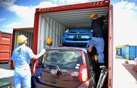 沖縄の中古車、パキスタンに週明け輸出 県の実証事業