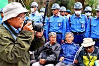 抗議続く、キャンプ・シュワブゲート前 写真家・石川文洋さん「民意無視だ」