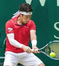 男子テニス、杉田は4強ならず ゲリー・ウェバーOP