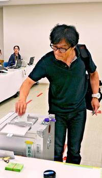 那覇市長選挙:期日前投票、初日は5千人超 サンエーメインプレイスとイオン那覇でも可能