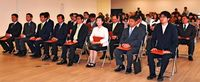 22人に当選証書/豊見城市議選