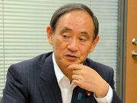 次期沖縄振計も高率補助で 本土復帰45年 本紙インタビューに菅氏