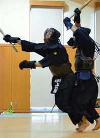 剣道沖縄県選手権:渾身のドウ「無心の技」