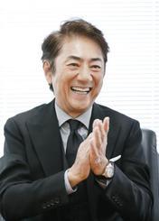 旭日小綬章受章が決まり喜びを語る俳優の市村正親さん