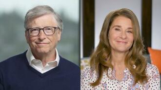 ビル・ゲイツ氏(左)とメリンダ・ゲイツ氏((C)Gates Notes提供・共同)
