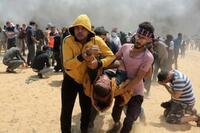 ガザ衝突、調査要求拡大 60人超死亡、虐殺か防衛か