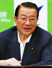 一括交付金減額、基地と予算のリンク否定 江崎沖縄相インタビュー