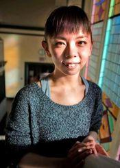 ソロ・ダンスのリハーサルを終えて笑顔を見せる國場めぐみさん=トロント・ダンス・シアター(Atsuko・Kさん提供)