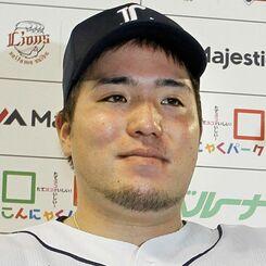 西武の山川穂高選手
