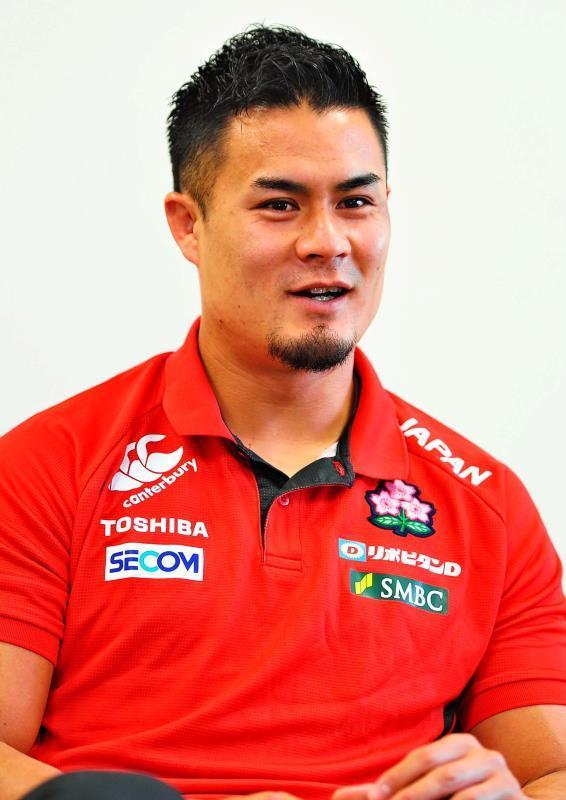 ラグビー日本代表・田村優が沖縄タイムスに抱負 「世界の経験を