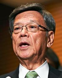 米軍発言「占領意識そのものだ」 沖縄知事、オスプレイ配備撤回要求