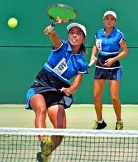沖縄テニス20年ぶり快挙 近畿総体、県勢V第1号
