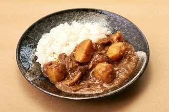 おくなわカレー・北大東島産のジャガイモを使った和風カレー