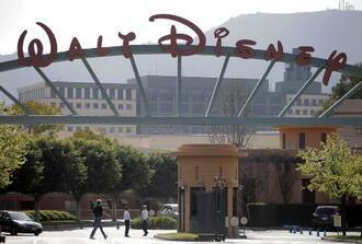 ウォルト・ディズニー・スタジオ=米カリフォルニア州バーバンク(AP=共同)