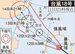 台風18号(11日21時現在)