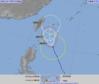 台風27号 発達しながら先島諸島へ 23日にかけ接近