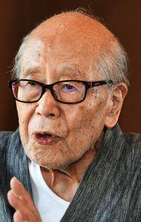金子兜太さん死去/98歳 戦後の俳句改革率いる
