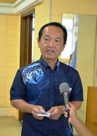 知事の承認撤回表明、地元・名護市は… 渡具知市長「今後の推移を注視」