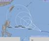 強い台風24号(チャーミー)発達しながら西へ