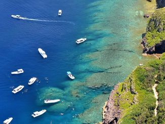 沖縄の海(資料写真)