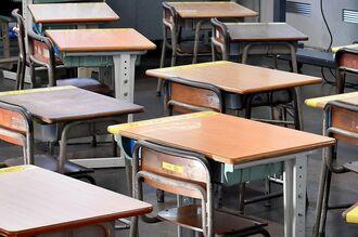 休校中の教室(イメージ写真)