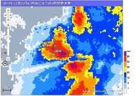 1時間に107.5ミリ 沖縄・宮古島で記録的大雨 土砂災害などに警戒を