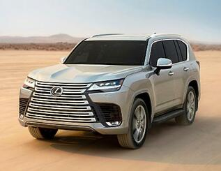 トヨタ自動車の高級ブランド「レクサス」の最上級SUV「LX」の新型車
