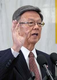 沖縄知事「全会一致の重み大きい」 県議会、普天間の即時運用停止求める決議