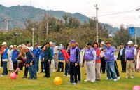 羽地の11集落 運動会で交流/名護 老人と婦人合同