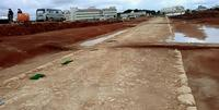 米軍施設跡から発掘された遺構は…「貴重な文化財」 1910年代の沖縄の「郡道」