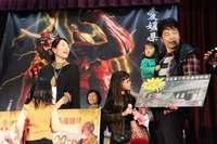 愛媛で鬼嫁競うコンテスト 「夫婦げんかは相撲で」