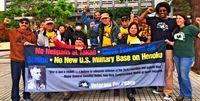 退役の米軍人ら、反基地呼び掛け 沖縄県庁前でVFP