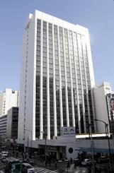 森永製菓本社が入る森永プラザビル=東京都港区