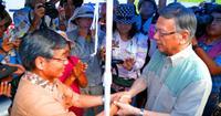 「翁長さんに代わる人いない」肩を落とす稲嶺前名護市長 本島北部でも動揺
