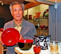 食洗機対応など「普段使い」の商品提案 活路探る琉球漆器